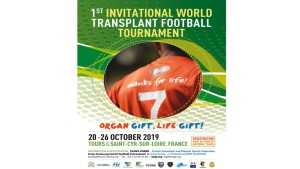 1st Invitational World Transplant Football Tournament 2019 - Tours & St-Cyr-sur-Loire